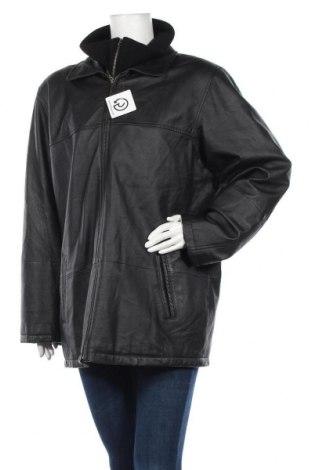 Γυναικείο δερμάτινο μπουφάν, Μέγεθος XL, Χρώμα Μαύρο, Γνήσιο δέρμα, Τιμή 37,41€