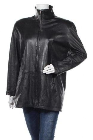 Γυναικείο δερμάτινο μπουφάν Cabrini, Μέγεθος XL, Χρώμα Μαύρο, Γνήσιο δέρμα, Τιμή 39,49€
