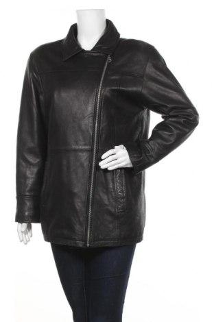 Дамско кожено яке Maddox, Размер L, Цвят Черен, Естествена кожа, Цена 43,47лв.