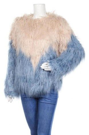 Дамско палто Boohoo, Размер S, Цвят Бежов, 80% модал, 20% акрил, Цена 64,24лв.