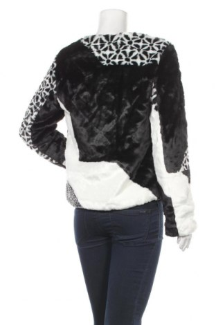 Дамско палто Desigual, Размер M, Цвят Черен, 60% акрил, 40% полиестер, Цена 88,77лв.