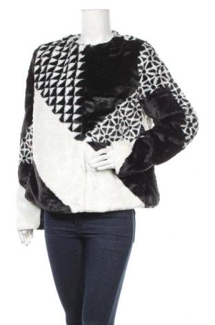 Дамско палто Desigual, Размер XL, Цвят Черен, 60% акрил, 40% полиестер, Цена 129,12лв.