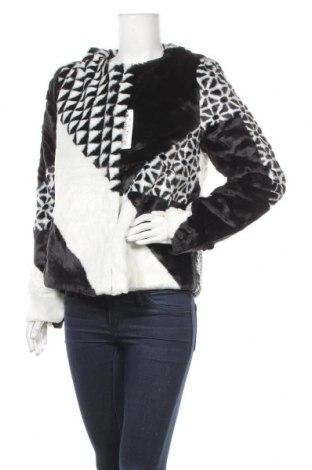 Дамско палто Desigual, Размер L, Цвят Черен, 60% акрил, 40% полиестер, Цена 88,77лв.