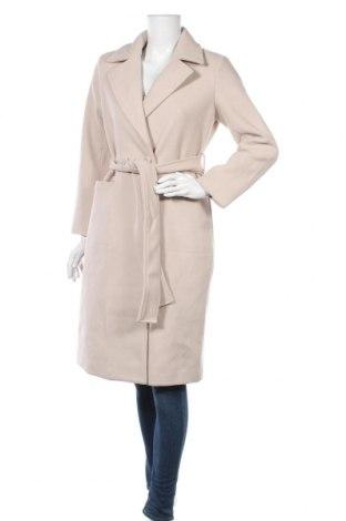 Дамско палто Fashion Union, Размер XS, Цвят Бежов, Полиестер, Цена 59,50лв.