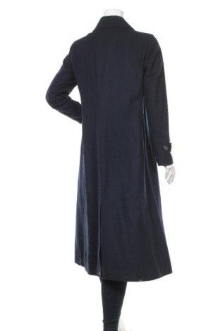 Дамско палто In Wear, Размер S, Цвят Син, 52% вълна, 34% полиестер, 4% полиамид, 1% вискоза, Цена 92,12лв.