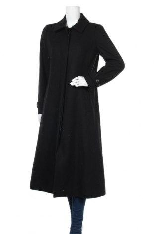Дамско палто In Wear, Размер M, Цвят Черен, 52% вълна, 34% полиестер, 9% акрил, 4% полиамид, 1% вискоза, Цена 164,50лв.