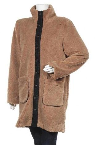 Дамско палто Kaffe, Размер M, Цвят Кафяв, 97% полиестер, 3% еластан, Цена 94,50лв.