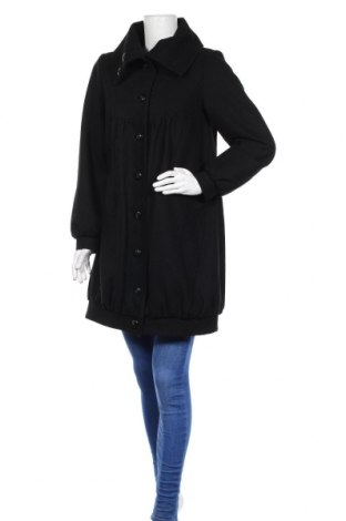 Дамско палто Soaked In Luxury, Размер S, Цвят Черен, 50% вълна, 50% полиестер, Цена 33,60лв.