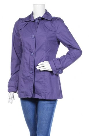 Дамско палто Tom Tailor, Размер S, Цвят Лилав, 100% памук, Цена 33,60лв.