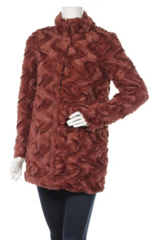 Дамско палто Vero Moda, Размер S, Цвят Червен, Полиестер, Цена 66,75лв.