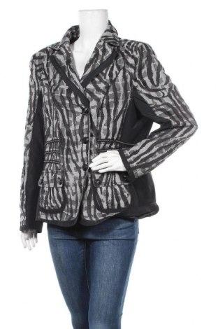 Дамско сако, Размер XL, Цвят Сив, Полиестер, Цена 16,96лв.