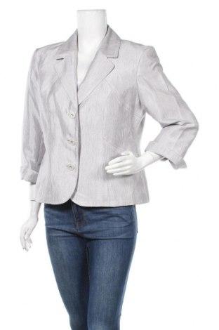 Дамско сако, Размер XL, Цвят Сив, Полиестер, Цена 30,45лв.