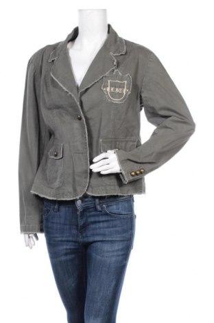Дамско сако, Размер XL, Цвят Зелен, Памук, Цена 7,98лв.