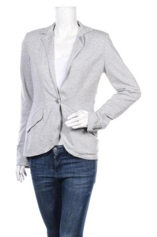Дамско сако, Размер M, Цвят Сив, 70% вискоза, 26% полиамид, 4% еластан, Цена 6,80лв.