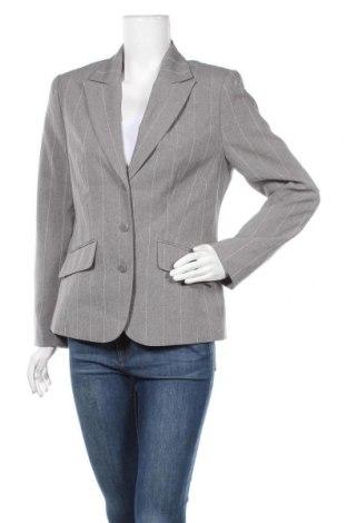 Дамско сако, Размер L, Цвят Сив, 97% полиестер, 3% вискоза, Цена 22,68лв.