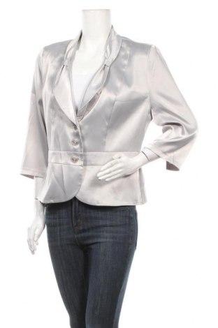 Дамско сако, Размер XL, Цвят Сив, Цена 8,82лв.
