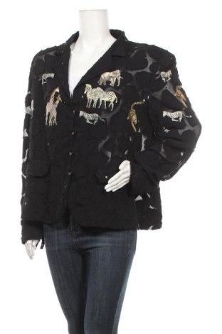Дамско сако, Размер XXL, Цвят Черен, Цена 21,95лв.