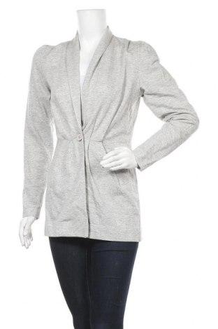 Дамско сако, Размер S, Цвят Сив, Памук, Цена 6,83лв.