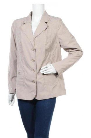 Дамско сако, Размер XL, Цвят Бежов, 50% полиестер, 50% полиамид, Цена 15,12лв.