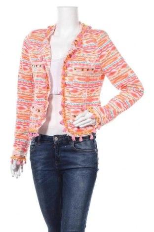 Дамско сако, Размер L, Цвят Многоцветен, 65% полиестер, 35% памук, Цена 8,82лв.