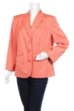 Дамско сако, Размер XL, Цвят Оранжев, 99% полиестер, 1% вискоза, Цена 13,36лв.