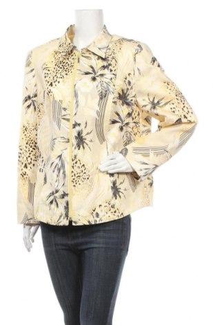 Дамско сако, Размер XL, Цвят Многоцветен, 98% памук, 2% еластан, Цена 22,94лв.