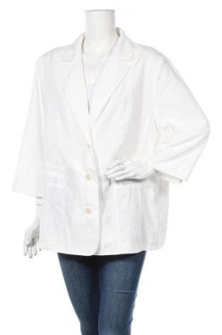 Дамско сако, Размер XXL, Цвят Бял, Полиестер, Цена 12,13лв.