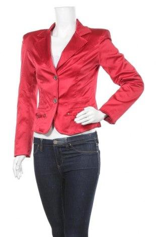 Дамско сако, Размер M, Цвят Червен, 52% полиестер, 45% памук, 3% еластан, Цена 5,80лв.
