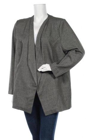 Дамско сако, Размер XXL, Цвят Сив, Полиестер, Цена 17,75лв.