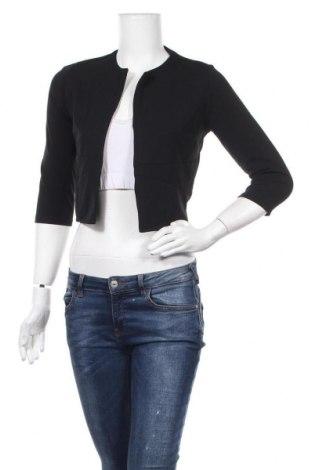 Дамско сако, Размер M, Цвят Черен, 90% полиестер, 5% вискоза, 5% еластан, Цена 12,97лв.