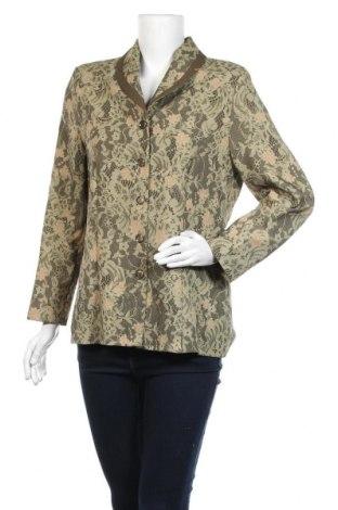Дамско сако, Размер M, Цвят Зелен, Полиестер, Цена 21,84лв.