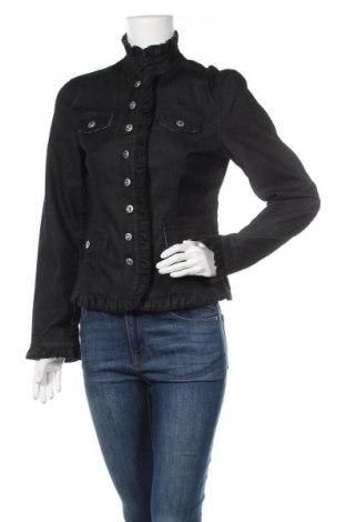Дамско сако Alba Moda, Размер S, Цвят Черен, 71% памук, 27% полиестер, 2% еластан, Цена 20,58лв.