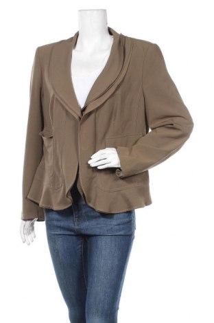 Γυναικείο σακάκι Apart, Μέγεθος XL, Χρώμα Πράσινο, 75% πολυεστέρας, 20% βισκόζη, 5% ελαστάνη, Τιμή 19,10€