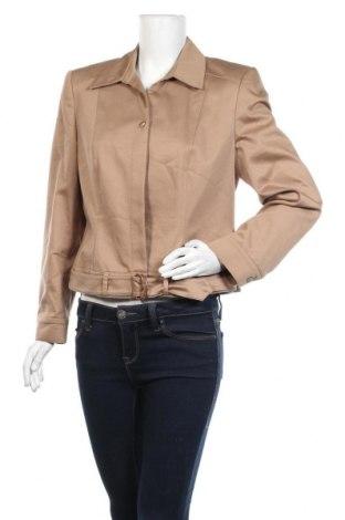 Γυναικείο σακάκι Apart, Μέγεθος L, Χρώμα  Μπέζ, 57% βαμβάκι, 40% πολυεστέρας, 3% ελαστάνη, Τιμή 7,73€