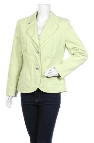 Дамско сако Barisal, Размер XL, Цвят Зелен, 81% памук, 18% полиестер, 1% еластан, Цена 24,10лв.