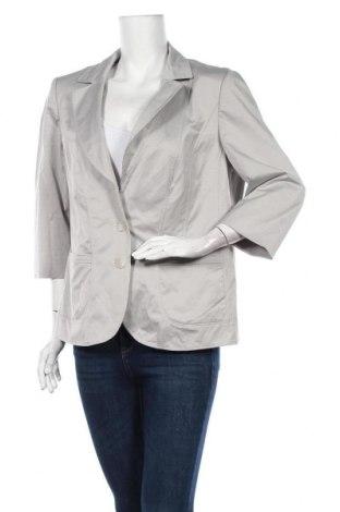 Дамско сако Betty Barclay, Размер XL, Цвят Сив, 49% полиамид, 47% памук, 4% еластан, Цена 28,67лв.