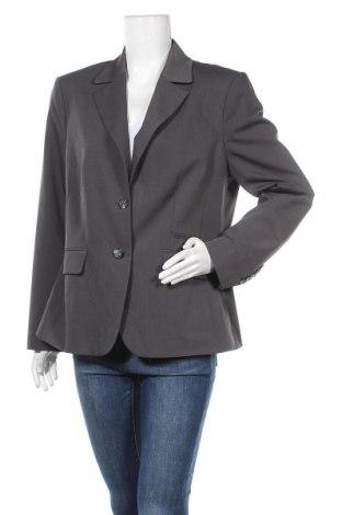Дамско сако Bianca, Размер L, Цвят Сив, 53% полиестер, 44% вълна, 3% еластан, Цена 6,56лв.