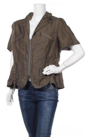 Дамско сако Bonita, Размер XL, Цвят Зелен, 88% лен, 12% полиамид, Цена 26,46лв.