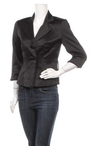 Дамско сако Bpc Bonprix Collection, Размер S, Цвят Черен, 97% полиестер, 3% еластан, Цена 6,83лв.