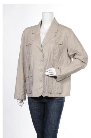 Дамско сако Bpc Bonprix Collection, Размер XXL, Цвят Сив, Цена 19,32лв.