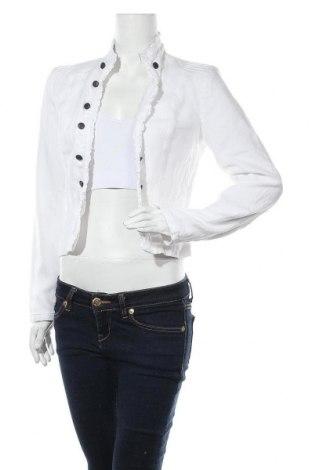 Дамско сако Camaieu, Размер S, Цвят Бял, Лен, Цена 22,94лв.
