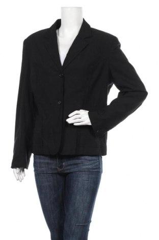 Дамско сако Canda, Размер XL, Цвят Черен, 75% вискоза, 23% полиамид, 2% еластан, Цена 5,67лв.