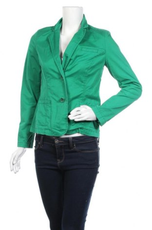 Дамско сако Cecil, Размер S, Цвят Зелен, 98% памук, 2% еластан, Цена 15,12лв.