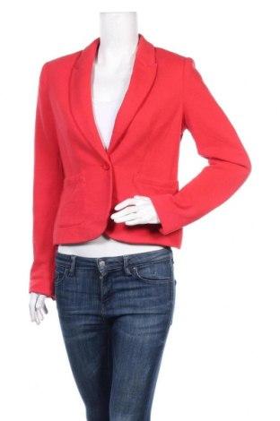 Дамско сако Clockhouse, Размер M, Цвят Червен, 60% памук, 40% полиестер, Цена 13,23лв.