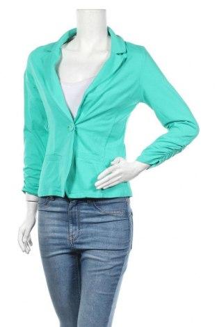 Дамско сако Colours Of The World, Размер M, Цвят Зелен, Памук, Цена 23,94лв.
