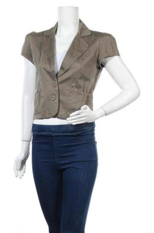 Дамско сако Colours Of The World, Размер XS, Цвят Кафяв, 97% памук, 3% еластан, Цена 3,00лв.