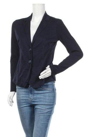 Дамско сако Comma,, Размер M, Цвят Син, 100% памук, Цена 19,43лв.