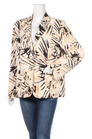 Дамско сако Delmod, Размер XL, Цвят Многоцветен, 98% памук, 2% еластан, Цена 16,17лв.