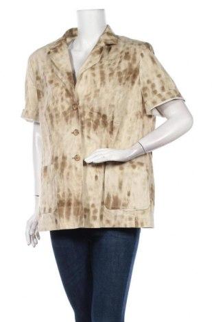 Дамско сако Elegance, Размер XL, Цвят Бежов, 95% памук, 5% еластан, Цена 7,88лв.