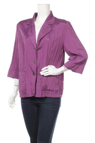 Дамско сако Fabiani, Размер L, Цвят Лилав, 100% полиестер, Цена 5,25лв.